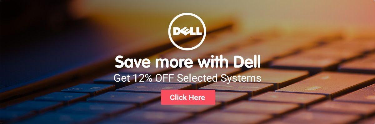 Dell 12% OFF discount